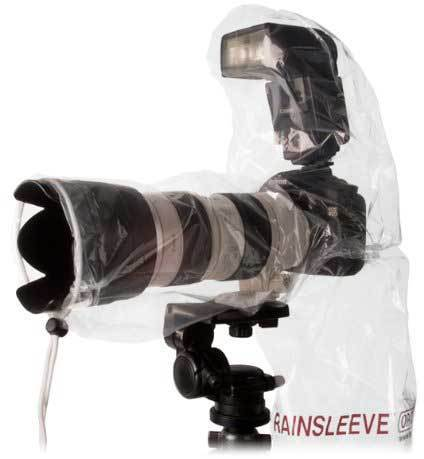 OP/Tech Rain-Sleeve Flash sadesuoja (2kpl)