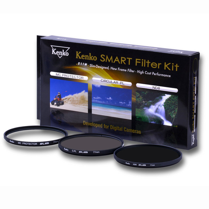 Kenko Smart Filter Kit 82mm (UV / Cir-PL / ND8)