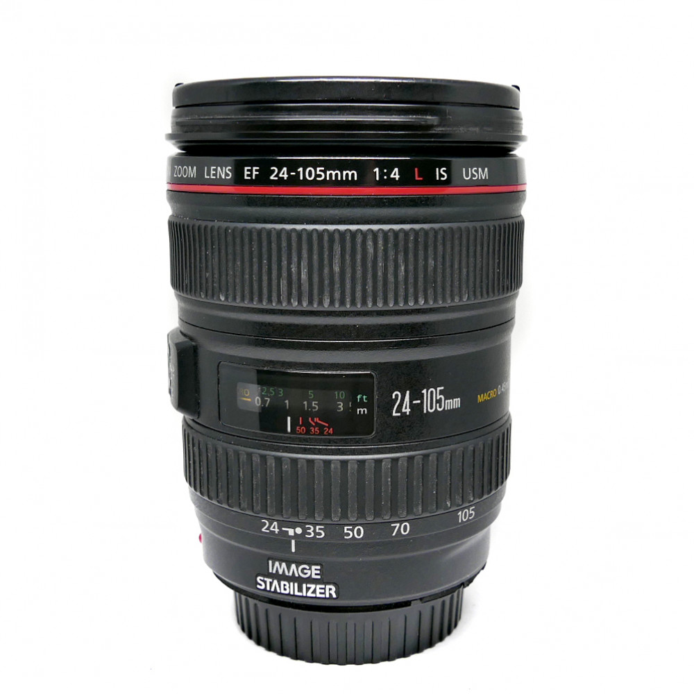 Canon EF 24-105mm f/4L IS USM (käytetty)