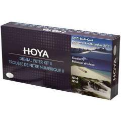 Hoya Digital Filter Kit II 55mm (UV / Cir-PL / ND)
