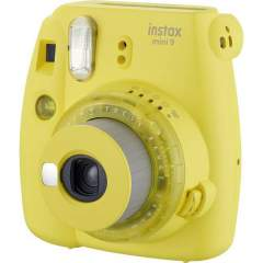 Fujifilm Instax Mini 9 pikakamera - Clear Yellow (Limited Edition)