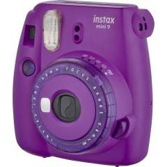 Fujifilm Instax Mini 9 pikakamera - Clear Purple (Limited Edition)