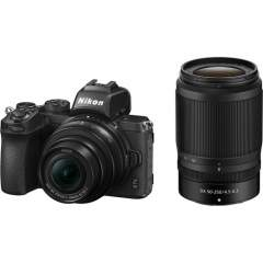 Nikon Z50 + 16-50mm VR + 50-250mm VR + FTZ-adapteri kit