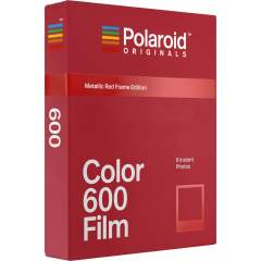 Polaroid Originals 600 Color pikafilmi (Metallic Red Frame Edition)