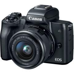 Canon EOS M50 + EF-M 15-45mm IS STM Kit - Musta