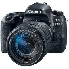 Canon EOS 77D + 18-135mm IS USM Kit