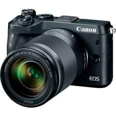 Canon EOS M6 + 18-150mm IS STM Kit - Musta