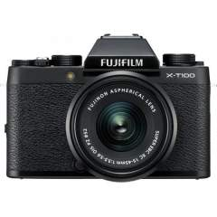 Fujifilm X-T100 + XC15-45mm Kit - Musta