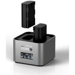 Hähnel proCUBE2 Twin Charger tuplalaturi (Sony)