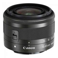 Canon EF-M 15-45mm f/3.5-6.3 IS STM - Musta
