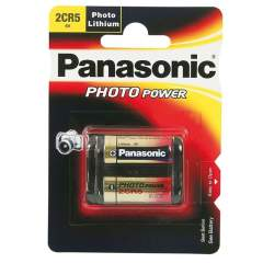 Panasonic Photo 2CR5 6V Lithium paristo