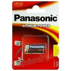 Panasonic Photo CR123A 3V Lithium paristo