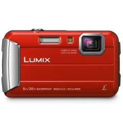 Panasonic Lumix DMC-FT30 - Punainen