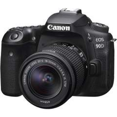 Canon EOS 90D + EF-S 18-55mm IS Kit
