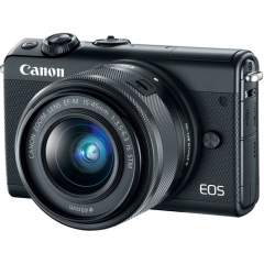 Canon EOS M100 + EF-M 15-45mm IS STM Kit - Musta