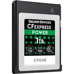 Delkin CFexpress Power (R1730/W1540) 1TB -muistikortti