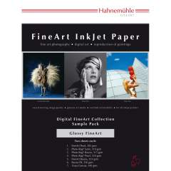 Hahnemühle Glossy FineArt A4 Sample Pack -testipaketti