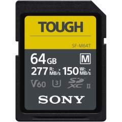 Sony 64GB SF-M Tough Series UHS-II (V60) -muistikortti